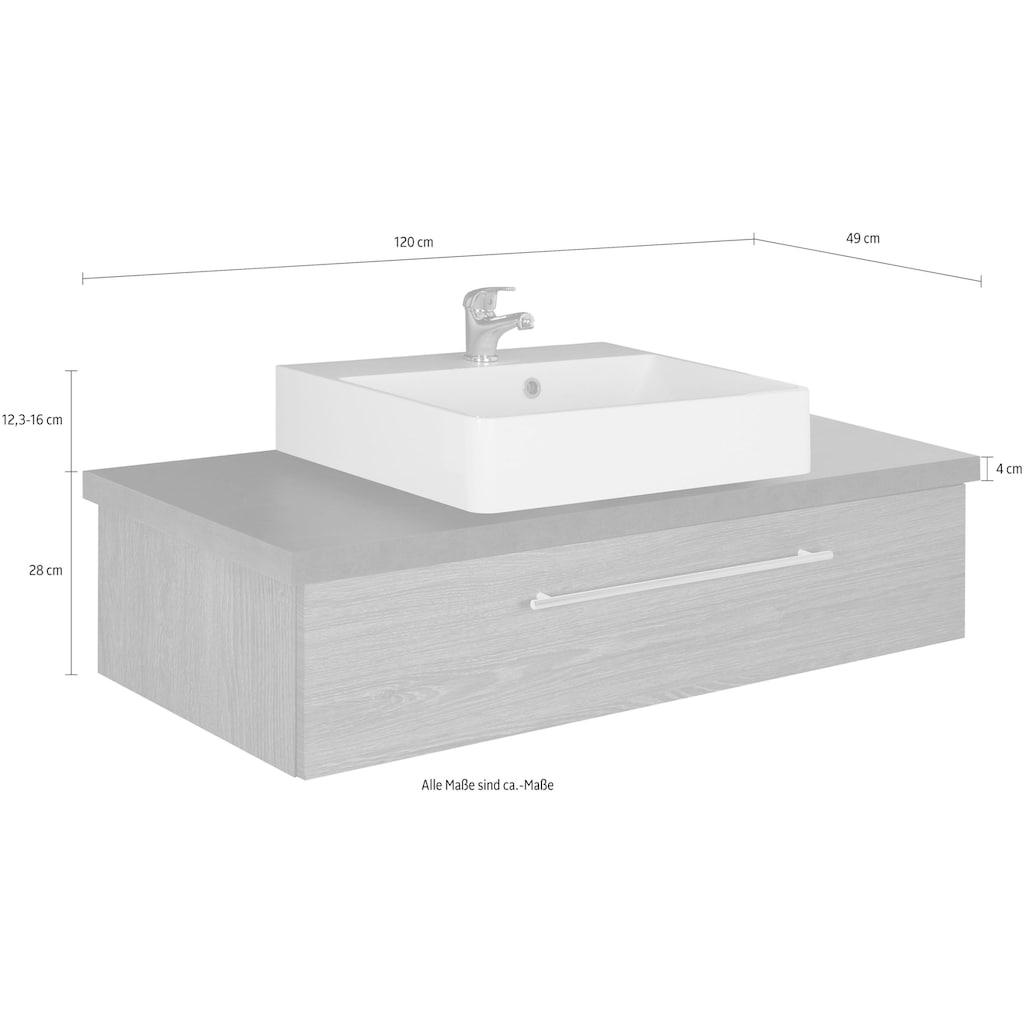 MARLIN Waschtisch »Laos 3110«, Breite 120 cm, Becken mittig