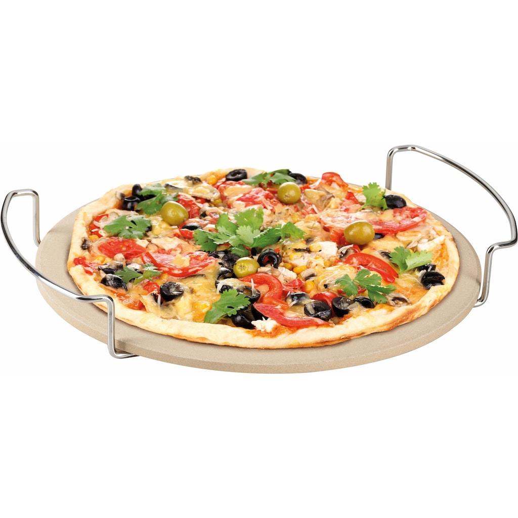 Genius Pizzastein »BBQ«, Keramik, (1 St.)