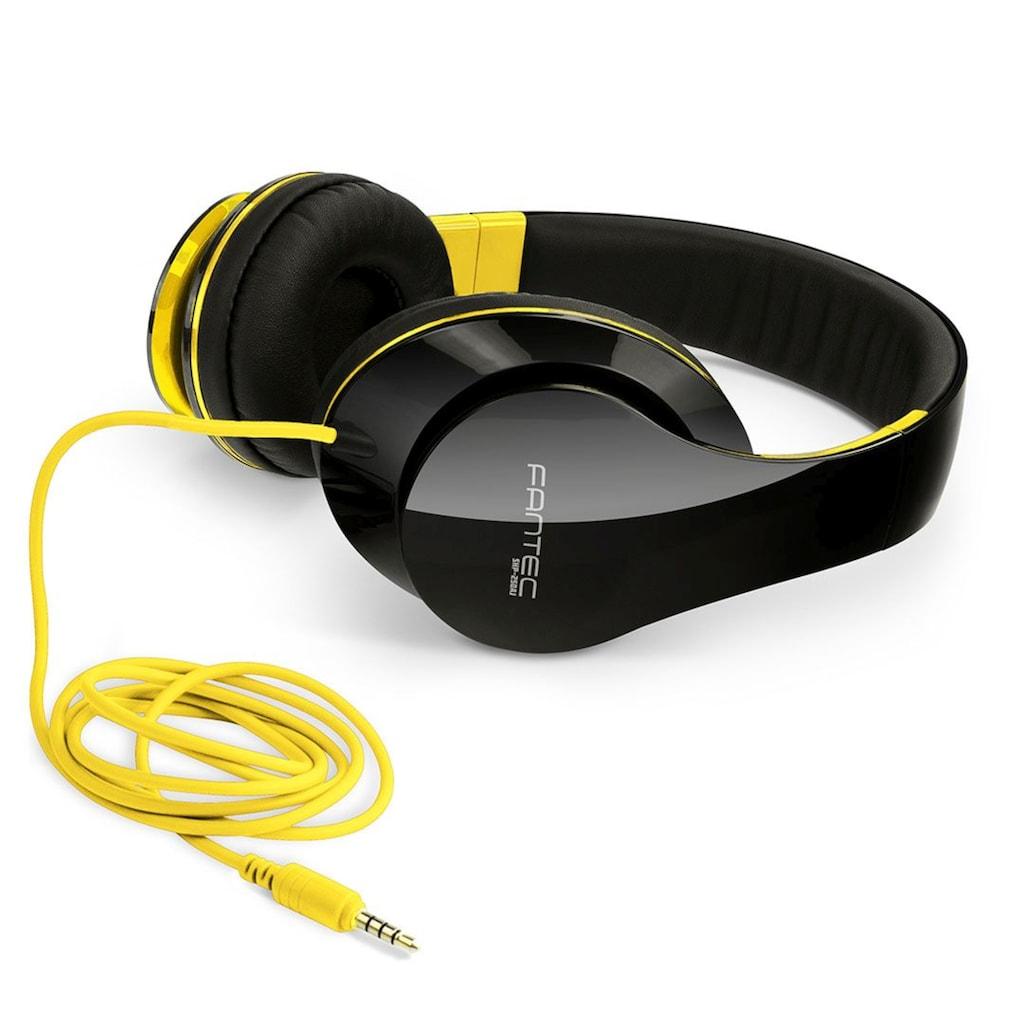 FANTEC Kopfhörer »Kopfhoerer on Ear«, Geräuschisolierung, SHP-250AJ-NY