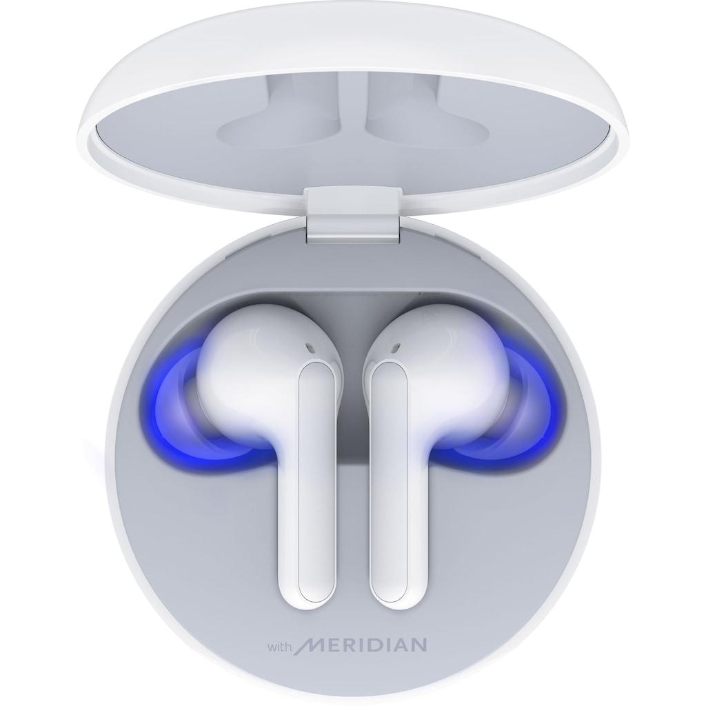 LG In-Ear-Kopfhörer »TONE Free FN6 Earbuds - Kabellose Bluetooth«, True Wireless-UV-Reinigung, Wireless Charging, mit Uvnano