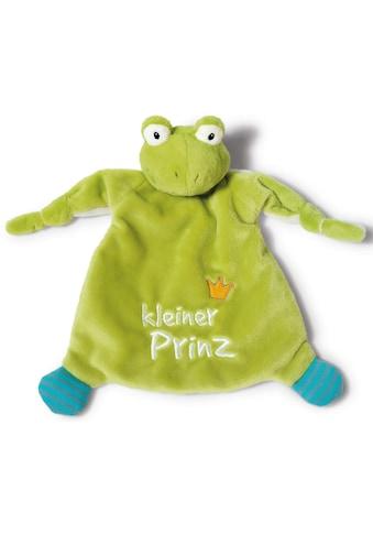Nici Schmusetuch »My First NICI Kollektion, Froschkönig, Kleiner Prinz«, (1 tlg.), mit... kaufen