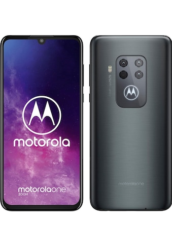 Motorola one ZOOM Smartphone (16,25 cm / 6,4 Zoll, 128 GB, 48 MP Kamera) kaufen