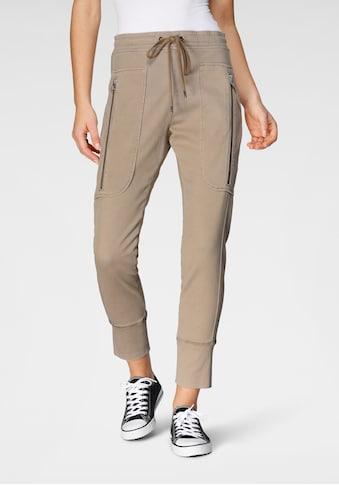 MAC Jogger Pants »Future-Pants«, Gewebte Schlupfform mit großen Taschen kaufen