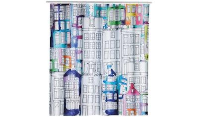 WENKO Duschvorhang »Sunny City«, Breite 180 cm kaufen