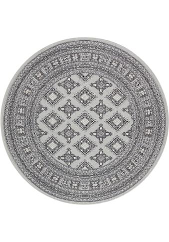 Teppich, »Sao Buchara«, NOURISTAN, rund, Höhe 9 mm, maschinell gewebt kaufen