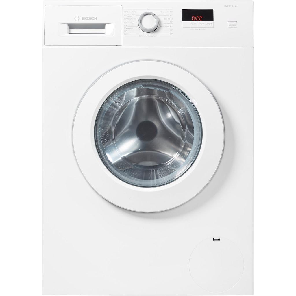 BOSCH Waschmaschine »WAJ28022«, 2, WAJ28022, 7 kg, 1400 U/min