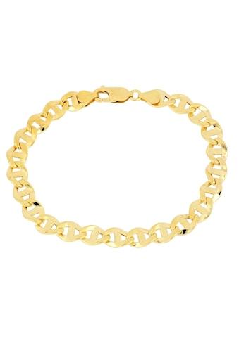 Firetti Goldarmband »Stegpanzerkettengliederung, 7,1 mm breit, glanz, Glieder leicht... kaufen
