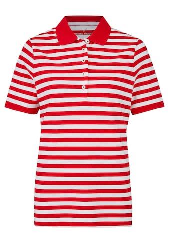 Daniel Hechter Sportives Poloshirt mit Streifen kaufen
