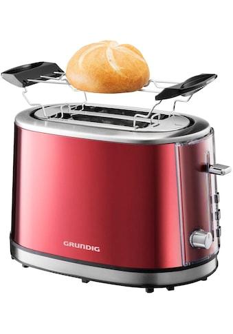 Grundig Toaster »TA 6330«, 2 kurze Schlitze, 850 W kaufen