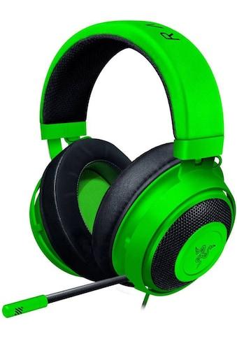 RAZER Kraken Gaming Headset »Mit Kältegel Gefüllte Ohrpolster« kaufen