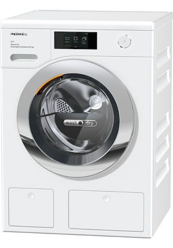 Waschtrockner, Miele, »WTR860 WPM PWash & TDos 8/5 kg WT1  Lotosweiß« kaufen