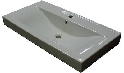 FACKELMANN Waschbecken »Piuro«, Keramik, Breite 89,5 cm kaufen