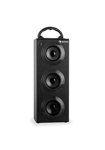 Auna Bluetooth Lautsprecher Radio USB SD AUX UKW MP3 Akkubetrieb kaufen