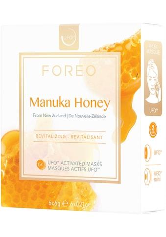 FOREO Tuchmaske »Manuka Honey«, (Packung), 6 x 6 g, kompatibel mit UFO & UFO mini kaufen