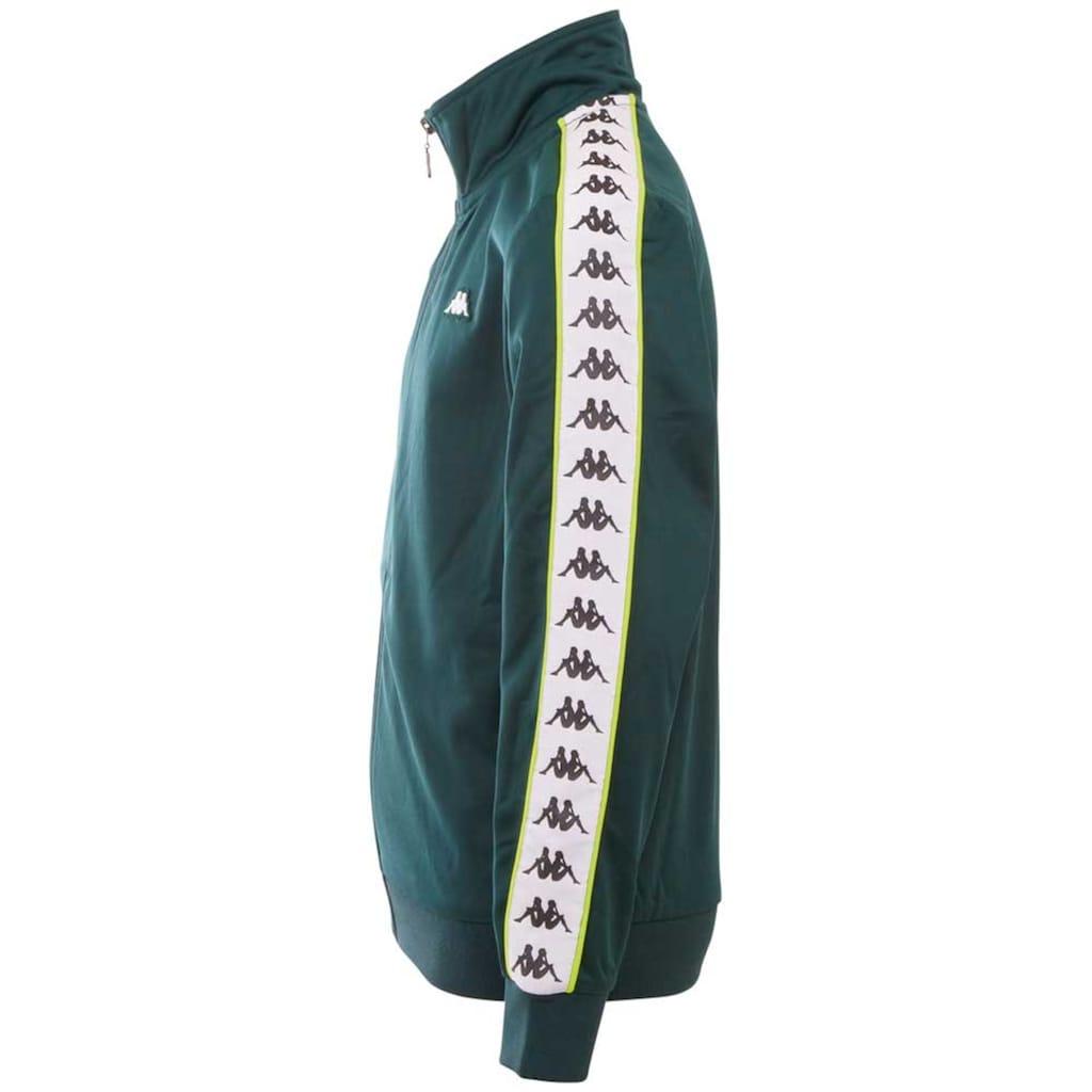 Kappa Trainingsjacke »HEKTOR«, mit hochwertigem Logowebband an den Ärmeln