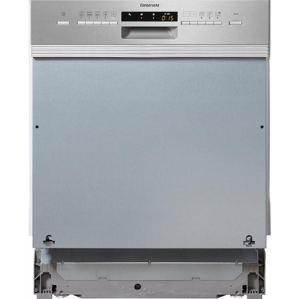 Constructa teilintegrierbarer Geschirrspüler »CG5A51J5«, CG5A51J5, 12 Maßgedecke