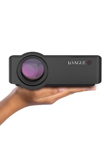 LA VAGUE LED-Beamer »LV-HD320«, (1000:1), unterstützt Full HD, ideal zum Streamen von... kaufen
