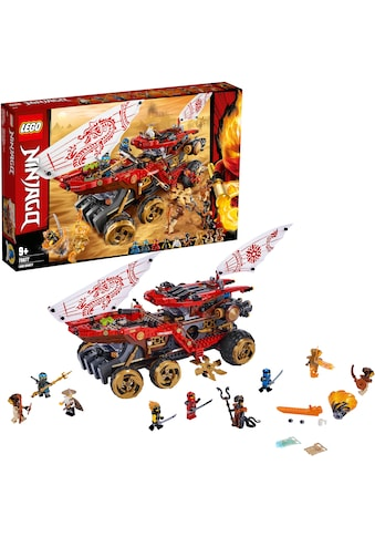 "LEGO® Konstruktionsspielsteine ""Wüstensegler (70677), LEGO® NINJAGO®"", Kunststoff, (1178 - tlg.) kaufen"