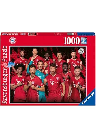 Ravensburger Puzzle »FC Bayern Saison 20/21«, Made in Germany, FSC® - schützt Wald -... kaufen
