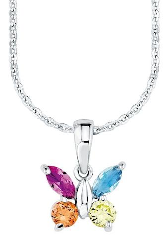 Amor Kette mit Anhänger »Schmetterling, 9293667«, mit Zirkonia kaufen