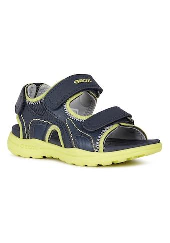 Geox Kids Sandale »VANIETT BOY«, mit drei Klettverschlüssen kaufen