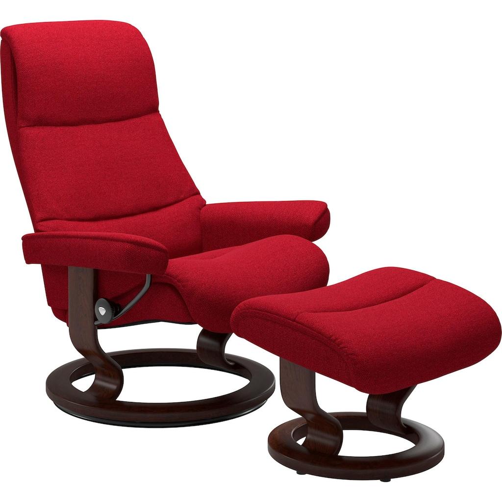Stressless® Relaxsessel »View«, mit Classic Base, Größe L,Gestell Braun