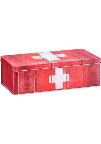 Zeller Present Aufbewahrungsbox »First Aid«, Metall, rot kaufen
