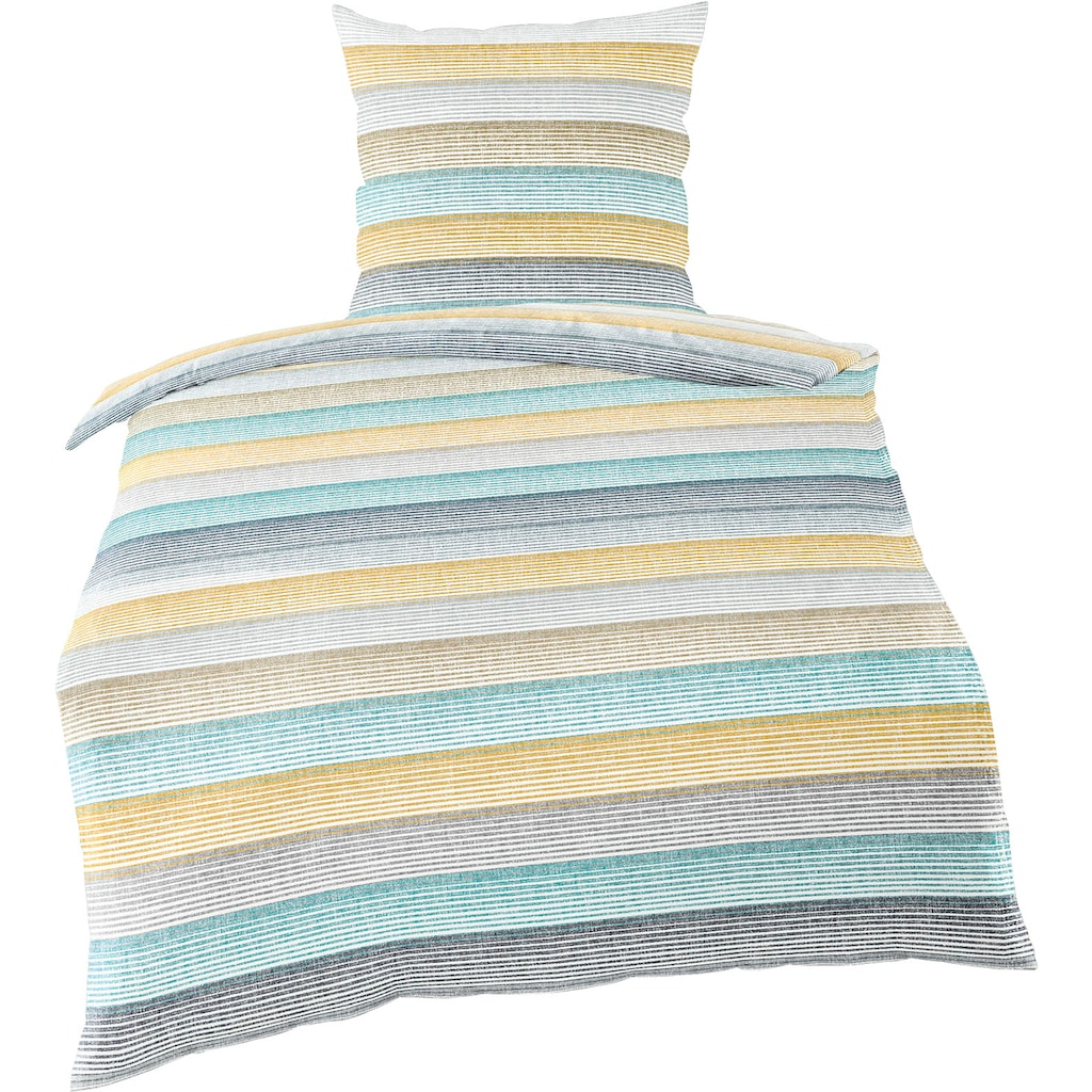 BIERBAUM Bettwäsche »Candy Stripes«, mit Streifen