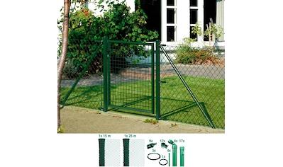 GAH Alberts Maschendrahtzaun, 80 cm hoch, 40 m, grün beschichtet, zum Einbetonieren kaufen