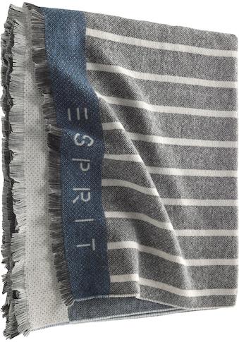 Wohndecke »Bigstripe«, Esprit kaufen