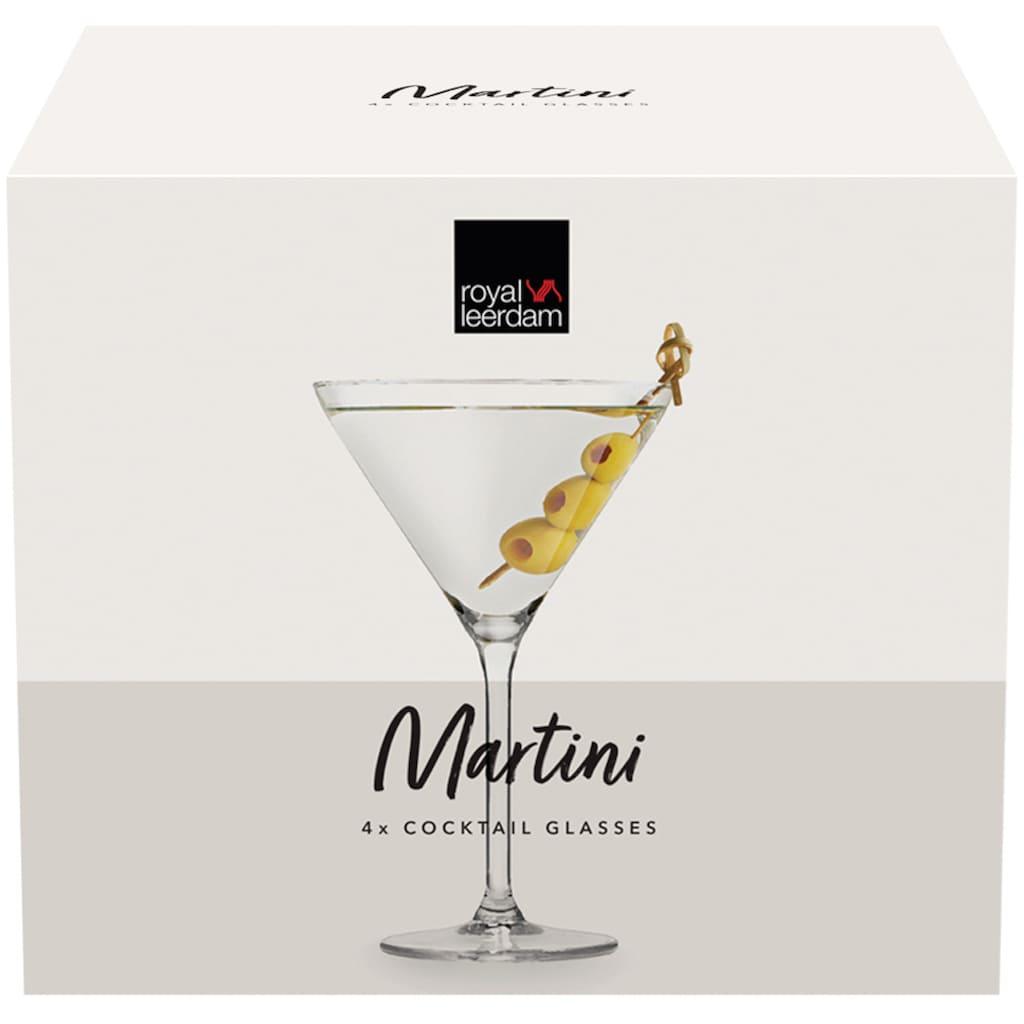 van Well Cocktailglas »Martini«, (Set, 4 tlg.), 260 ml, im Geschenkkarton, 4-teilig