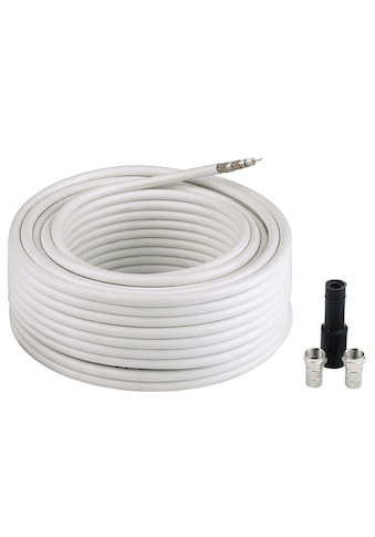 Hama SAT-Kabel »SAT-Receiver-Anschluss-Set«, F-Stecker, 10000 cm, SAT-Anschluss-Kit... kaufen