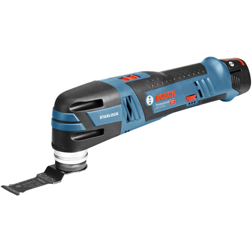 Bosch Professional Akku-Multifunktionswerkzeug »GOP 12V-28 Professional«, ohne Akku und Ladegerät