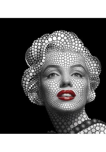 Wall-Art Vliestapete »Ben Heine Circlism: Marilyn Monroe« kaufen