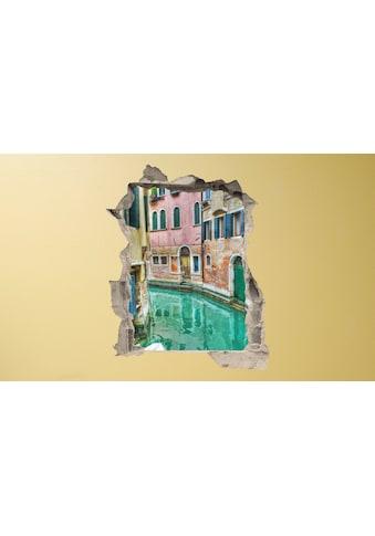 Conni Oberkircher´s Wandsticker »3 D Sticker Beton Venice Alley« kaufen