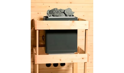Karibu Sauna »Agneta«, 3,6-kW-Plug & Play Ofen mit integrierter Steuerung kaufen