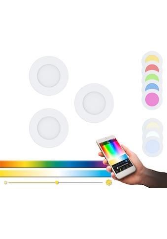 EGLO Einbauleuchte »FUEVA-C«, LED-Board, Warmweiß-Tageslichtweiß-Neutralweiß-Kaltweiß,... kaufen