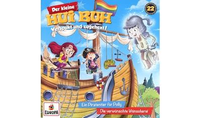 Musik-CD »022/Ein Piratentier für Polly/Die verwünschte Wüns / kleine Hui Buh,Der« kaufen