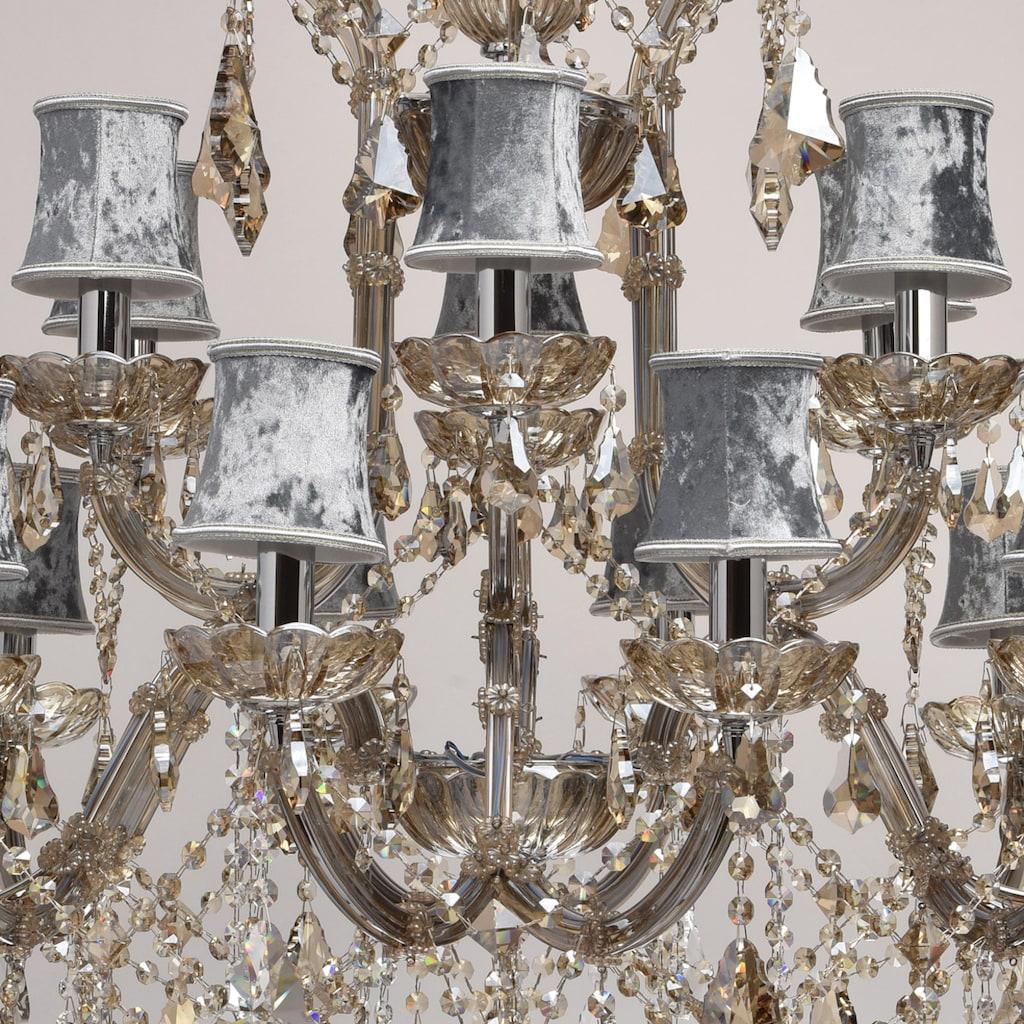 CHIARO Kronleuchter »Ivelina«, E14, 1 St., Hängeleuchte, Pendellampe, Pendelleuchte