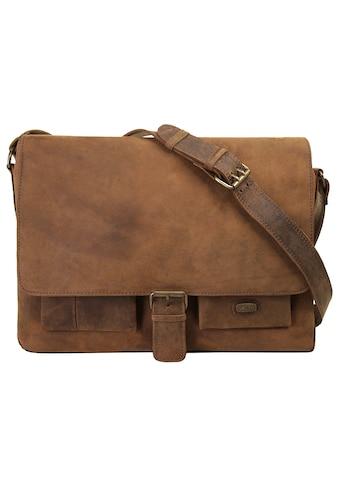 Harold's Messenger Bag »ANTIC«, vegetabil gegerbt kaufen