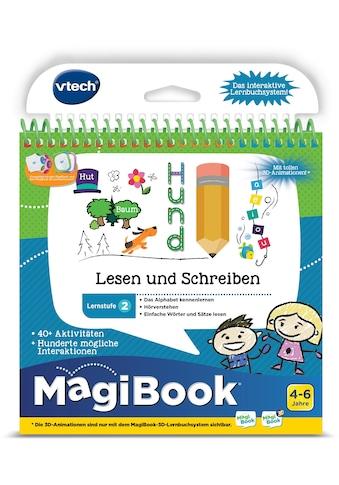 Vtech® Buch »MagiBook Lernstufe 2 - Lesen und Schreiben« kaufen