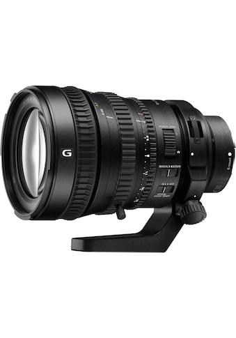 Sony Objektiv »E - Mount Zoomobjektiv 18 - 200 F3.5 - 6.3« kaufen