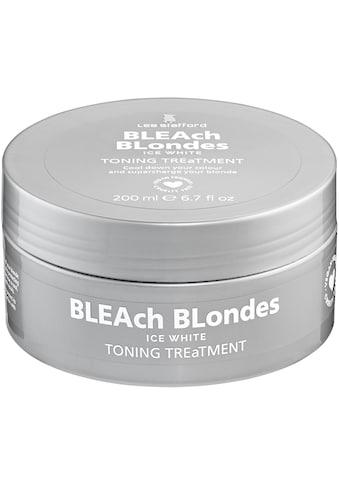 Lee Stafford Haarmaske »Bleach Blonde Ice White Toning Treatment« kaufen