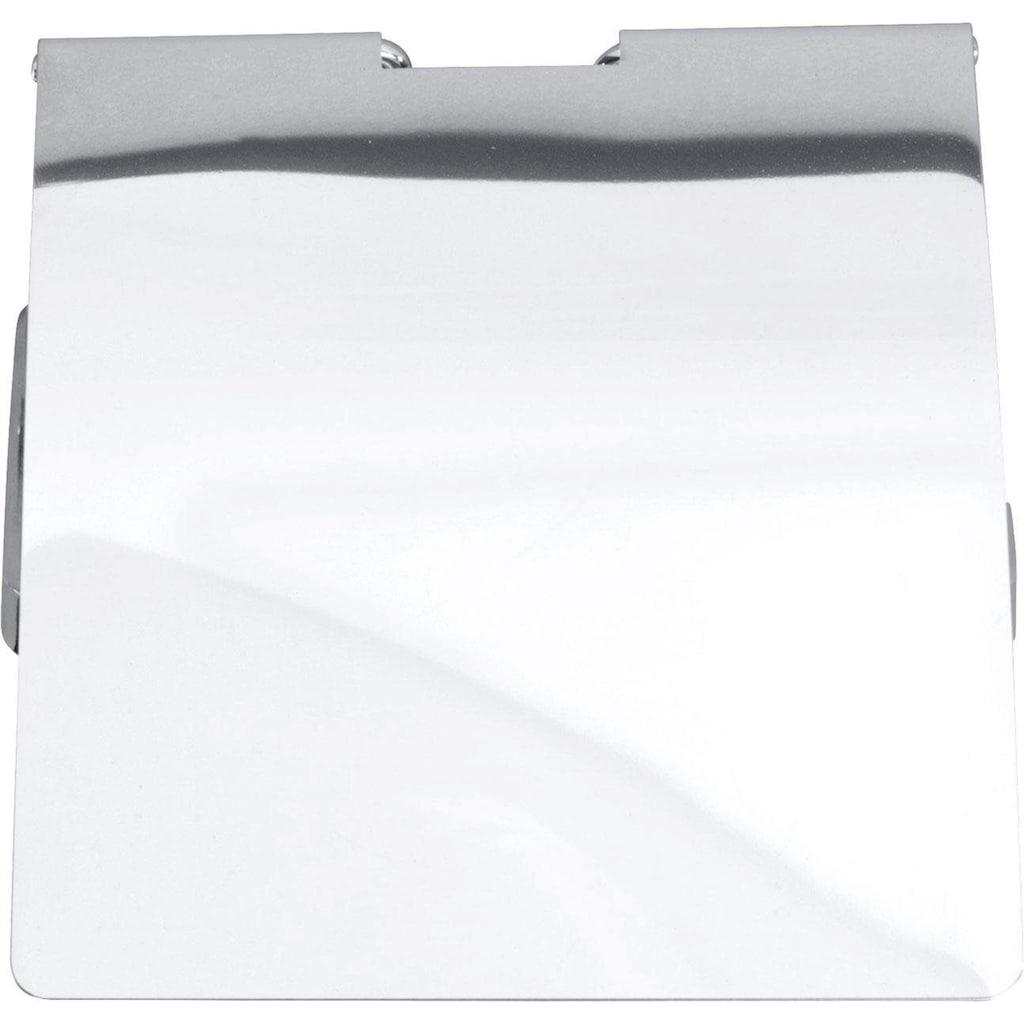 WENKO Toilettenpapierhalter »Premium«, 12,5 x 13 x 9 cm