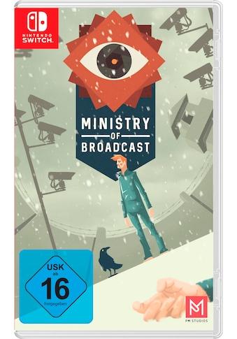 Spiel »Ministry of Broadcast«, Nintendo Switch kaufen