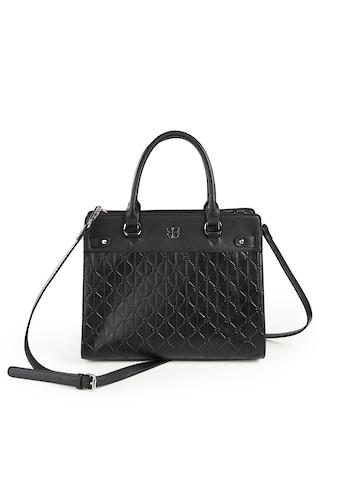 Basler Handtasche in unifarbenem Design mit Strukturmuster kaufen