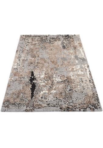 OCI DIE TEPPICHMARKE Teppich »Juwel Liray«, rechteckig, 20 mm Höhe, Kurzflor, Wohnzimmer kaufen