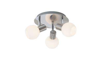Brilliant Leuchten Deckenleuchten, E14, Tiara Spotrondell 3flg eisen/weiß kaufen