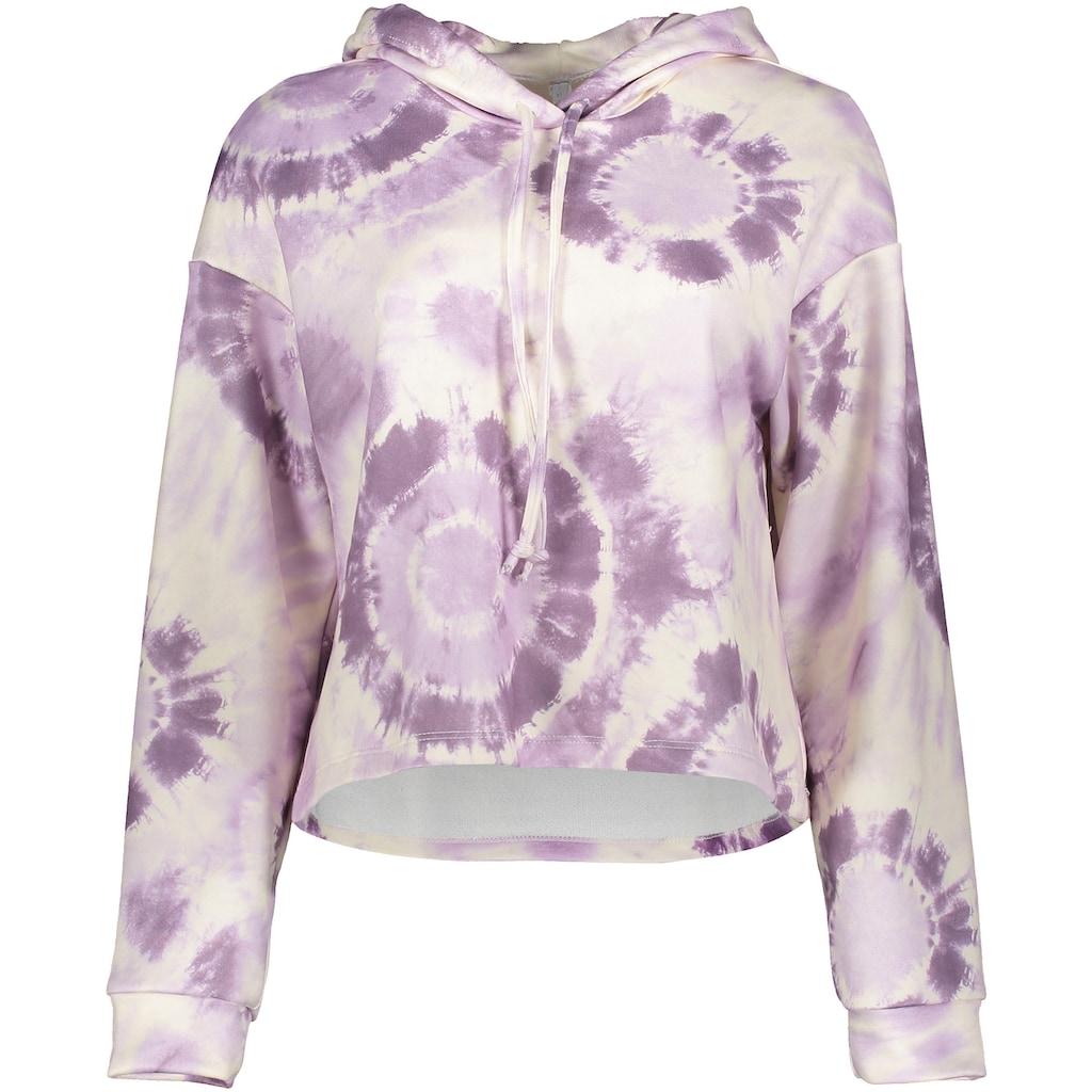 IMPERIAL Sweater »IMP-FC41«, im Batik-Design