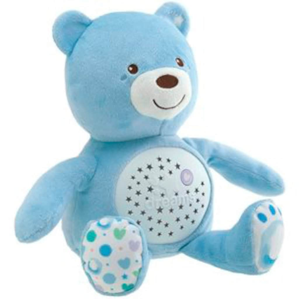 Chicco Kuscheltier »First Dreams Baby Bär, Hellblau«, mit Lichtprojektion und Soundfunktion